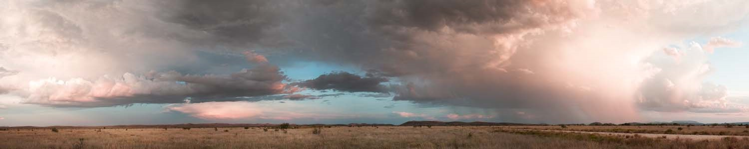 James Evans, Panoramic from Combs Ranch