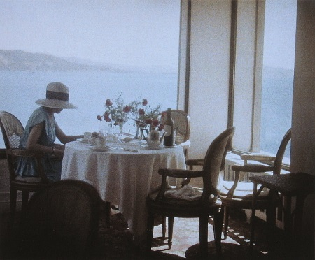 Jacques Henri Lartigue, Bibi at Eden Roc, Cap d'Antibes