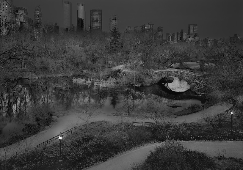 Michael Massaia, Deep in a Dream-Central Park, North West View