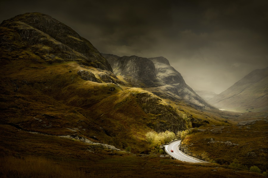 David Osborn, Glencoe, Scotland