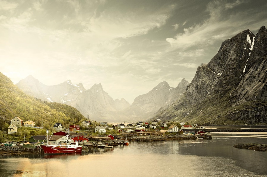 David Osborn, Reine, Norway