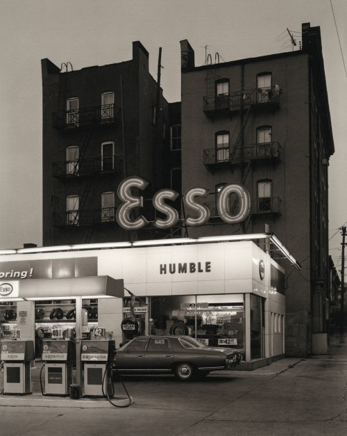 George Tice, Esso Station