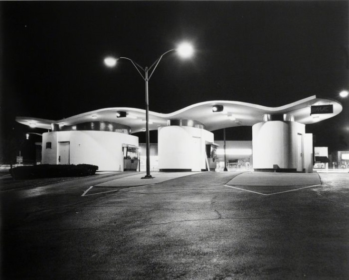 George Tice, First Union Drive-In Bank