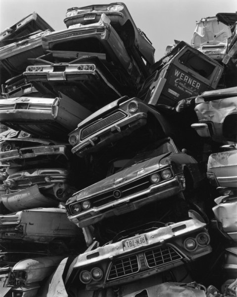 George Tice, Junked Cars