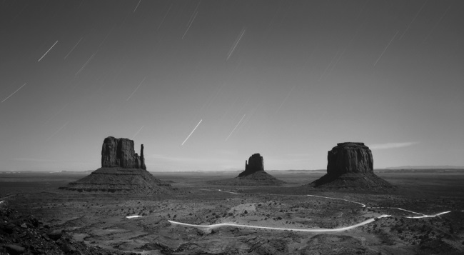 Brian Kosoff, Monument Valley, Night