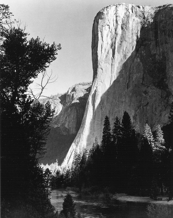 el capitan ansel adams -#main
