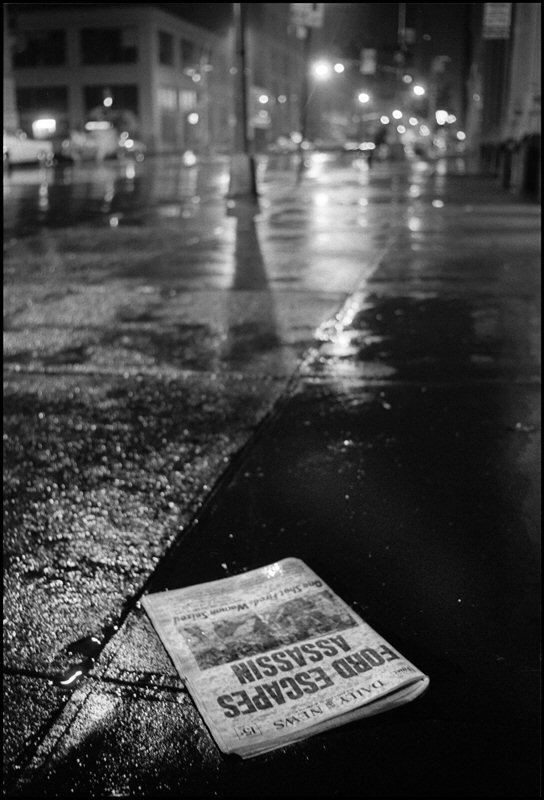 Gary Bishop, Early Rainy Morning Newspaper Delivery