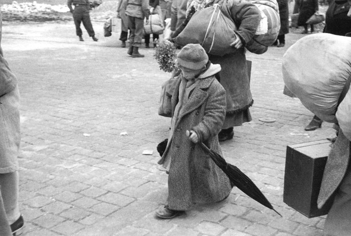 Russian Child Released from Concentration Camp