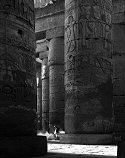 Carolyn Brown, The Sweeper, Temple of Karnak