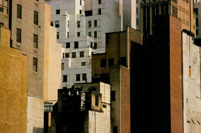 Harry Callahan, Skyscrapers, New York
