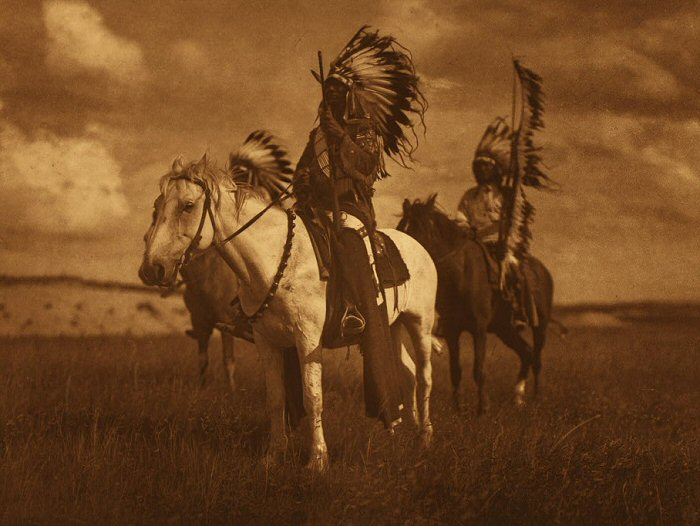 Sioux Chiefs, Edward Curtis