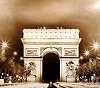Paris--Arc de Triomphe-Storm