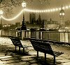 London--Benches, Big Ben