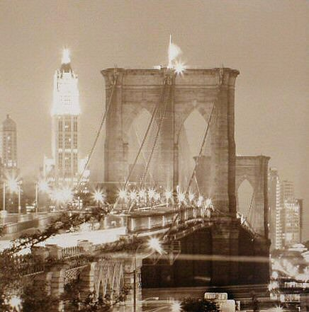 New York--Brooklyn Bridge