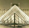 Paris--Louvre-Two Pyramids