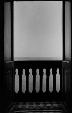 Ralph Gibson, Balcony Looking Out