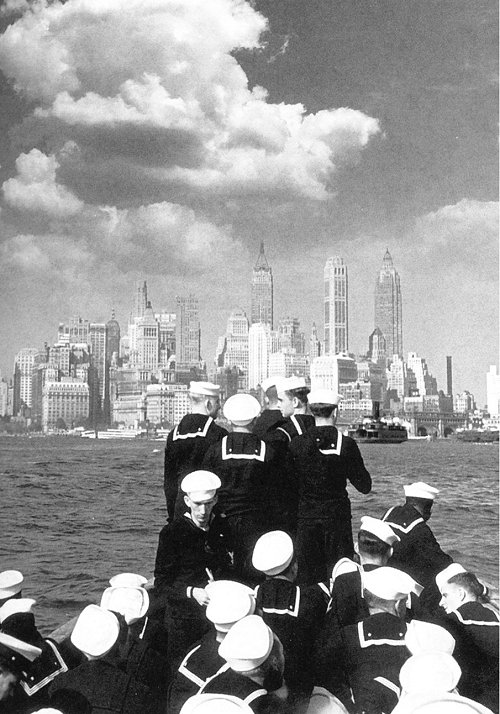 Sailors bound for Manhattan