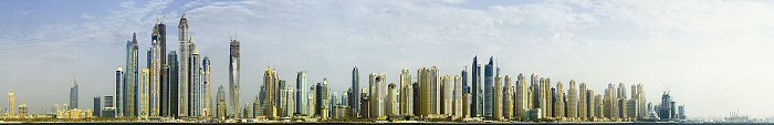 David J. Osborn, Dubai Skyline