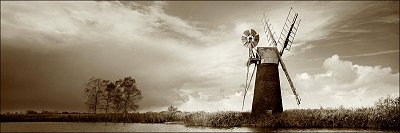 Windmill on Canal