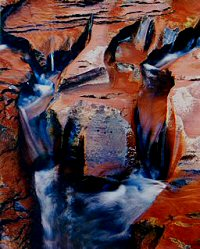 Eliot Porter, Rock-eroded stream bed