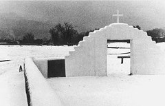 Winter in Taos Pueblo