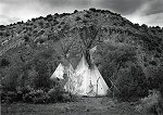 Craig Varjabedian, Comanche Tipis on Movie Set